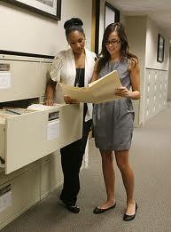file clerk