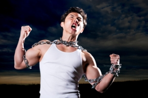 man-in-chains