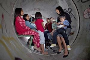 bomb shelter