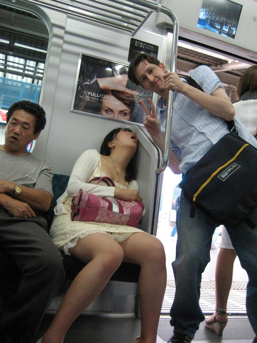 woman spreading large asshole